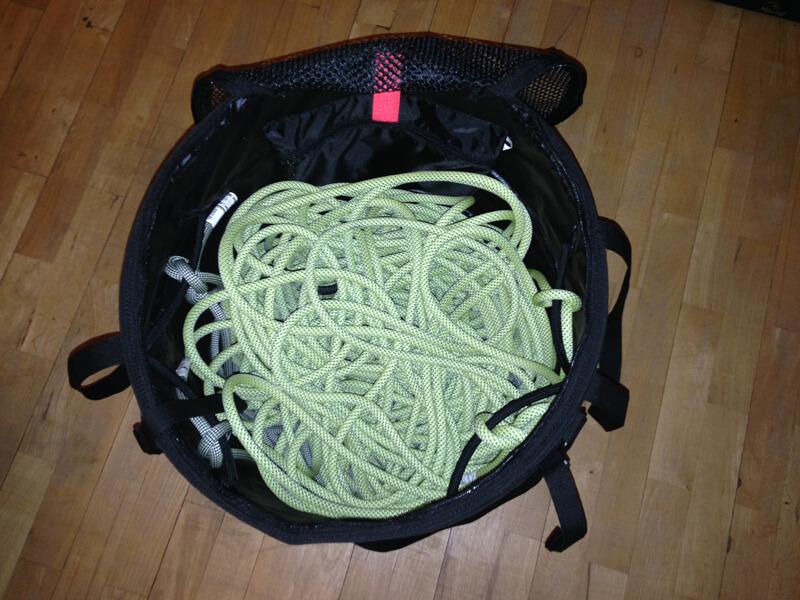 gefüllter Seilsack