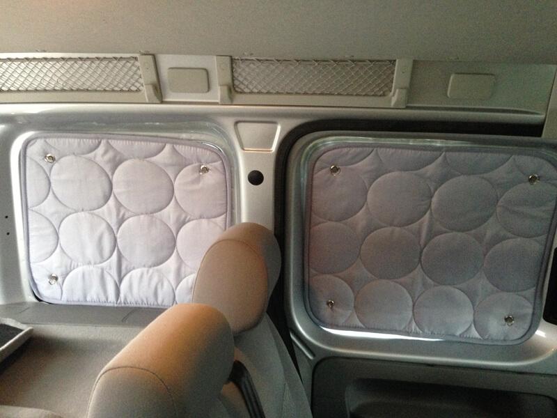 Thermomatten für unterschiedliche Fenstergrößen