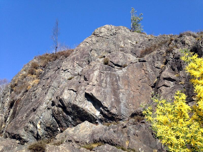 kleiner Kletterspot Balladrum bei Losone