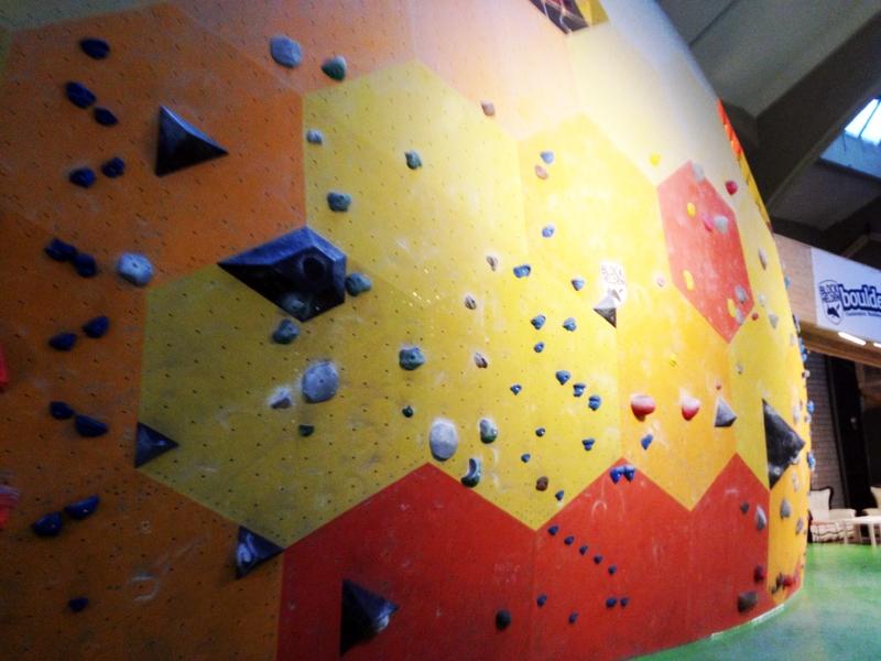 großer Kletterdome