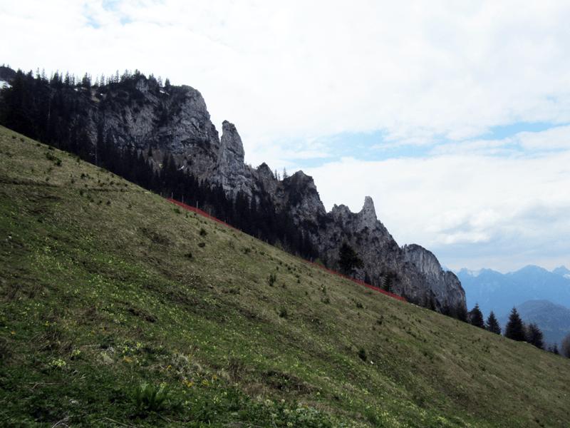 Finger, Täfeleshang & die Felszapfen
