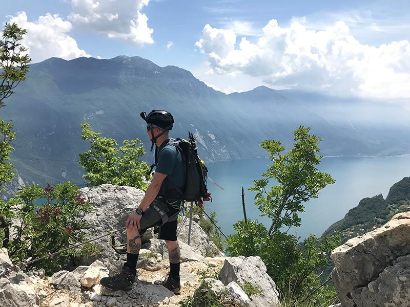 Sentiero Fausto Susatti & Sentiero die Camminamenti