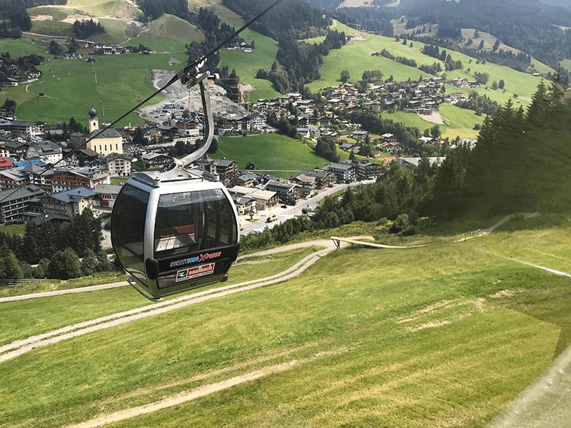 Gondel des Schattenberg Express
