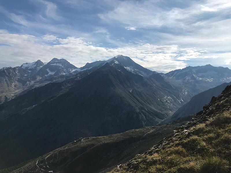 tolles Bergpanorama