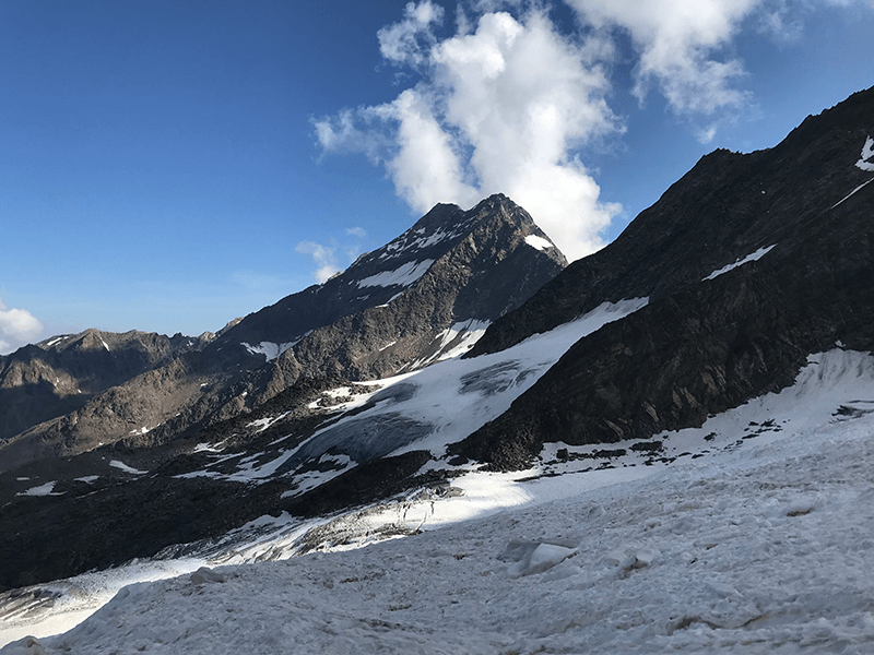 Blick auf das Lagginhorn