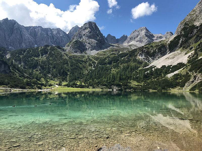 Bergwanderung Seebensee & Coburger Hütte