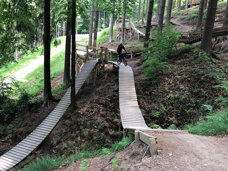 North-Shore-Trail im Bikepark Winterberg