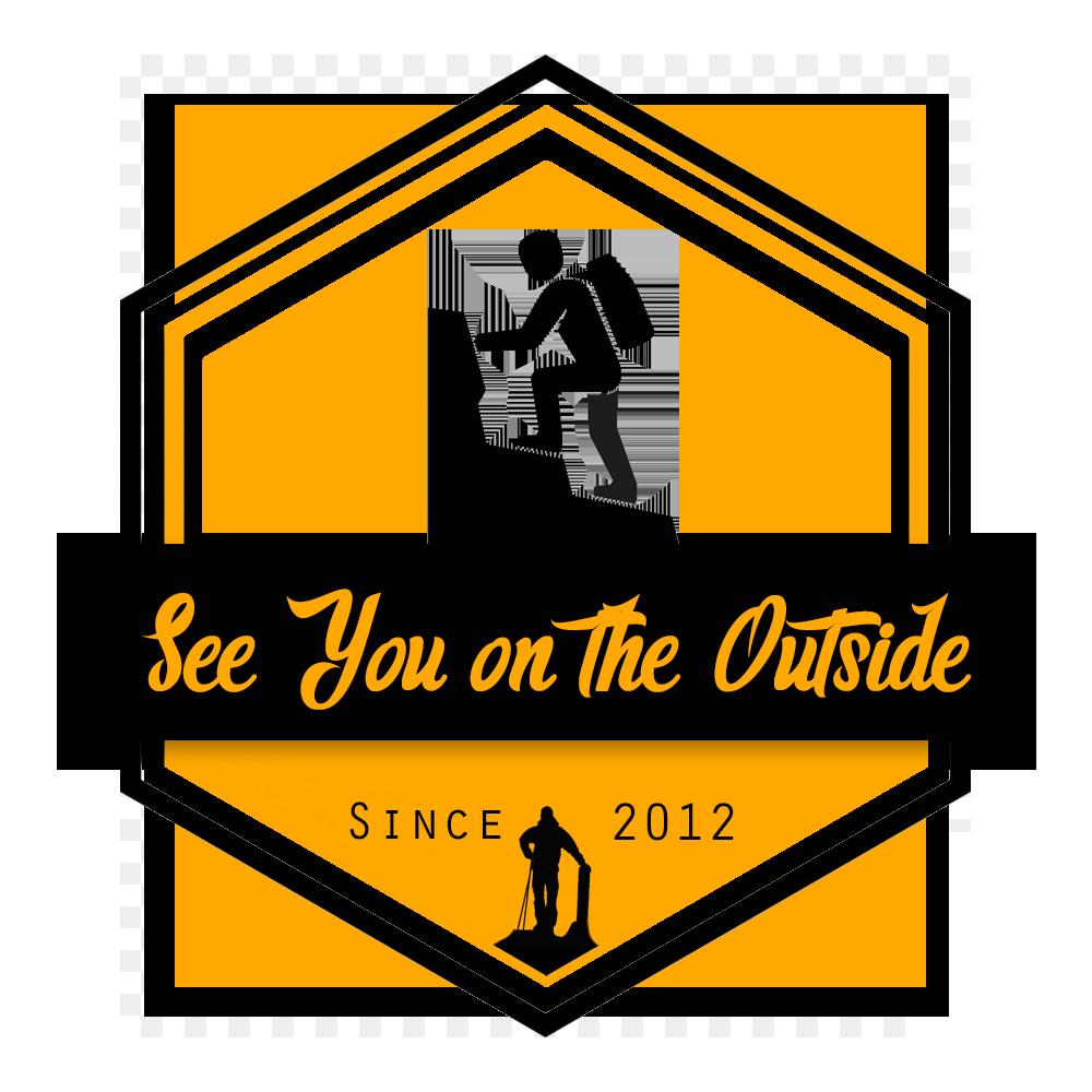 See You on the Outside Logo Bergsteigen