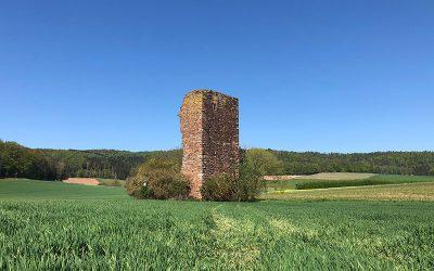 Zur Ruine Seeburg und Teufelskaute