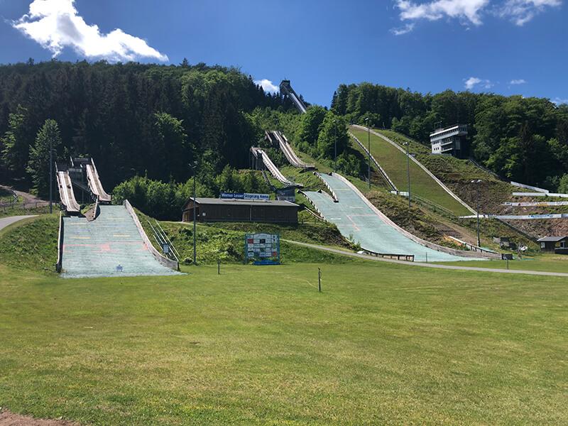 Skisprungzentrum an der Iselbergschanze