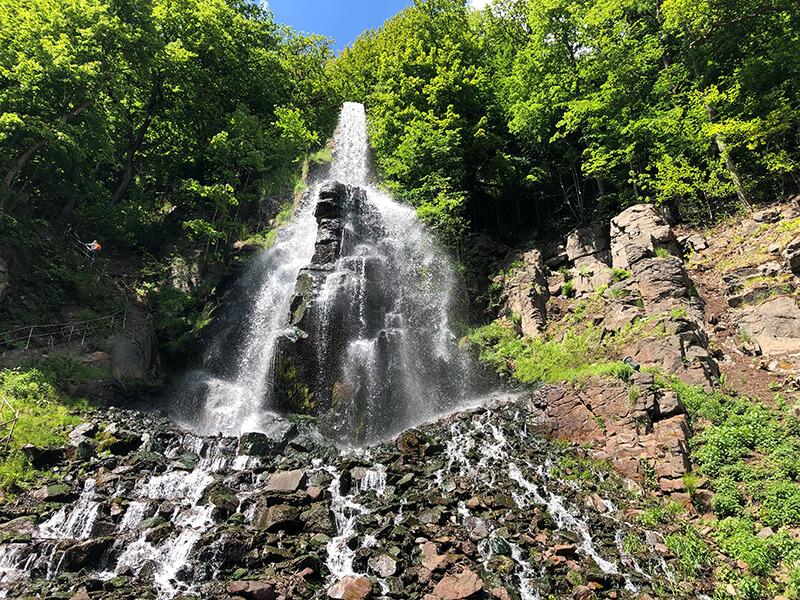 Wanderung zum Trusetaler Wasserfall