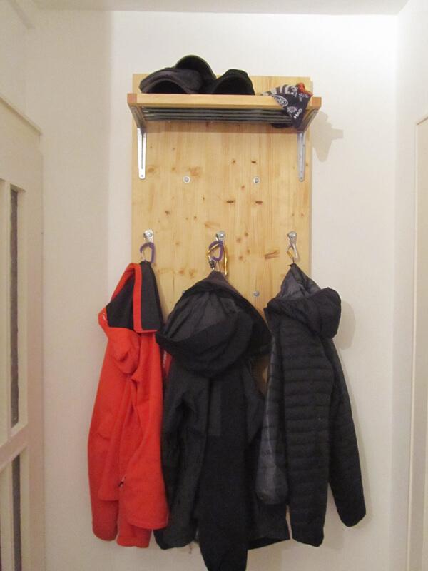 Verwendung als Garderobe