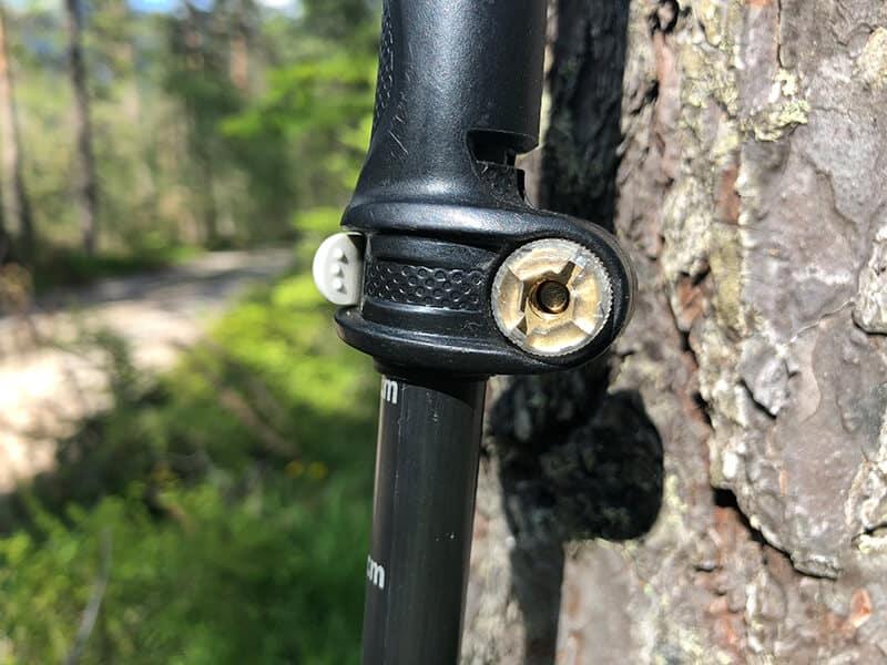 Verstellschraube am Speed Lock 2 System