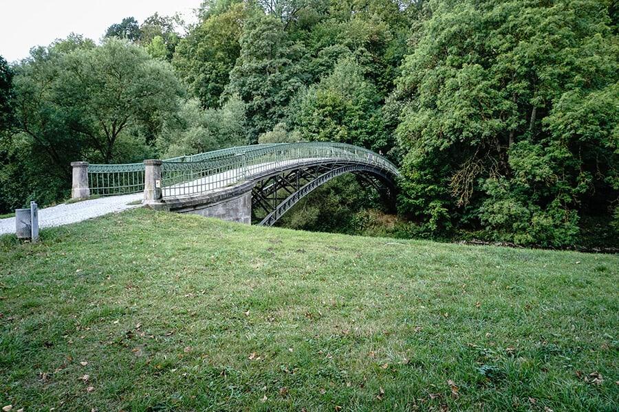 Bogenbrücke über die Werra