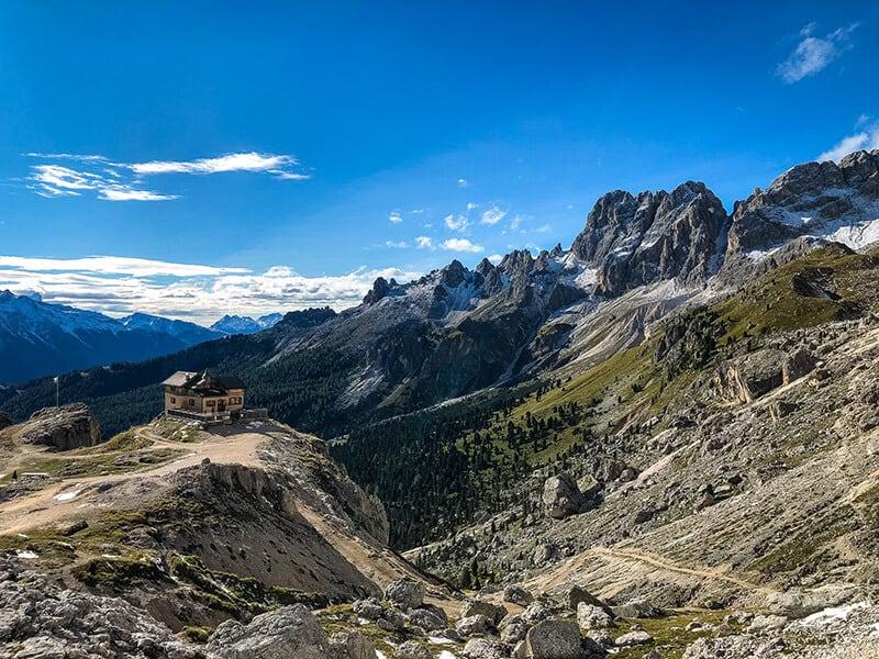 Blick zur Preusshütte