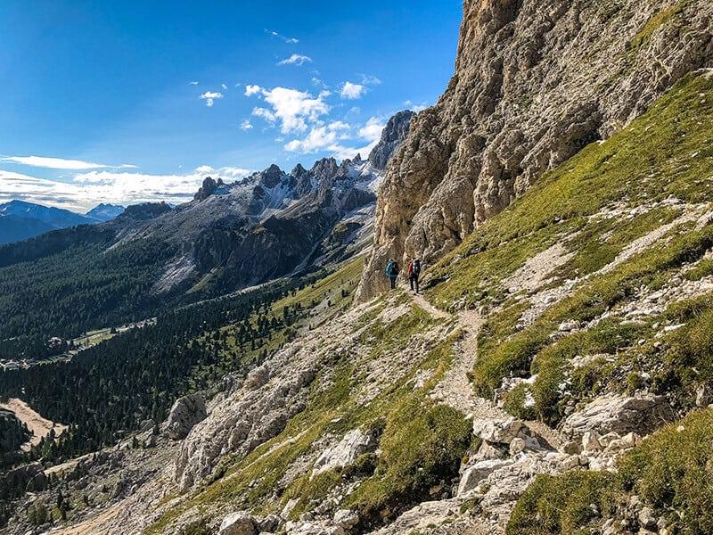 Bergweg zum Tschagerjoch