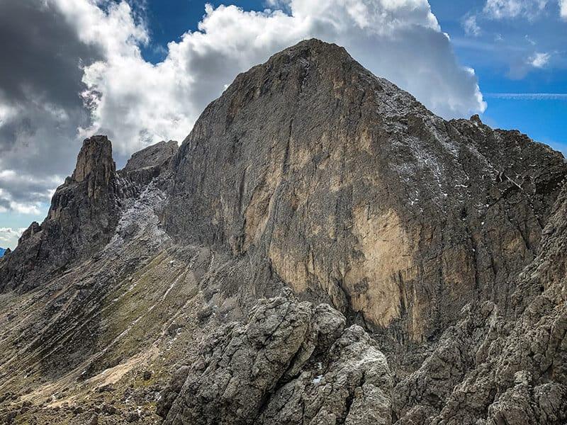 400 Meter hohe Südwestflanke der Rotwand