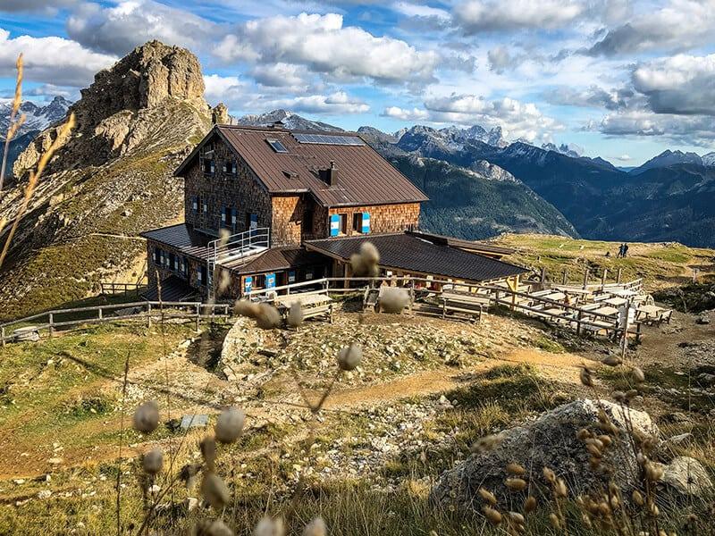 Hüttentour Rosengarten – Vajolon Pass und Rifugio Roda di Vael