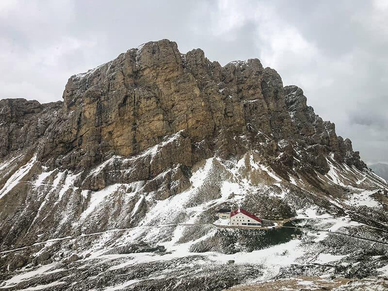 Rifugio Alpe di Tires und die Rosszähne