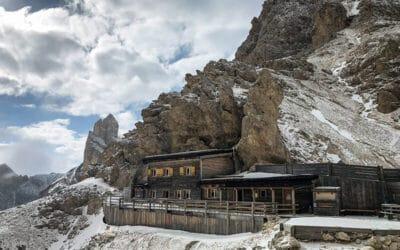 Hüttentour Rosengarten – zum Rifugio Passo Pricipe am Grasleitenpass