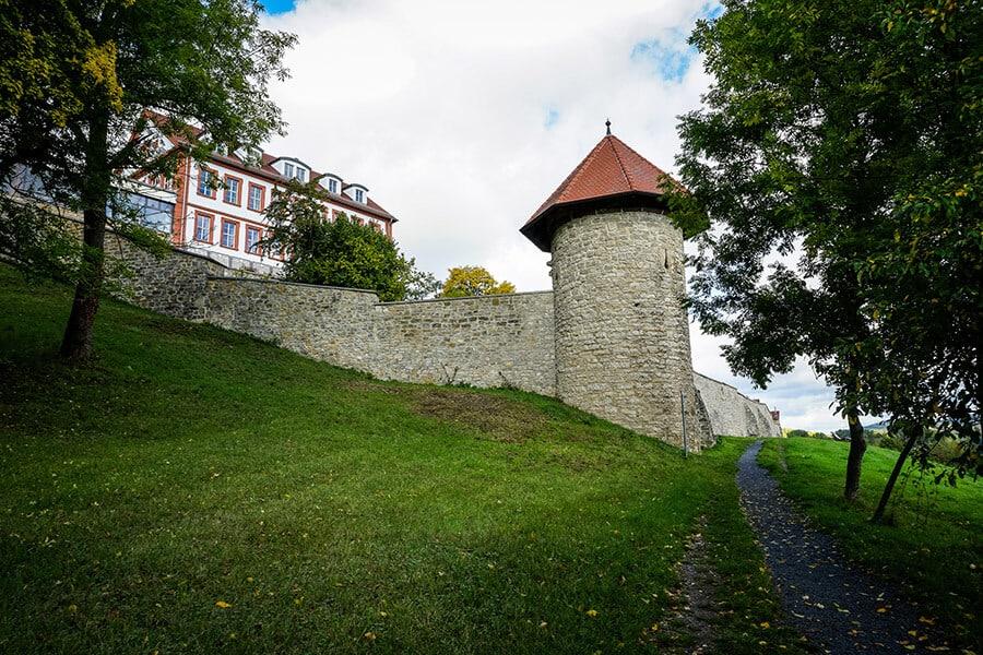 Stadtmauer am Gangolfiberg