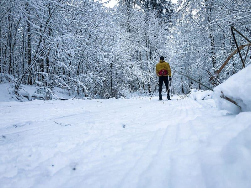 traumhafte Bedingungen zum Skilaufen