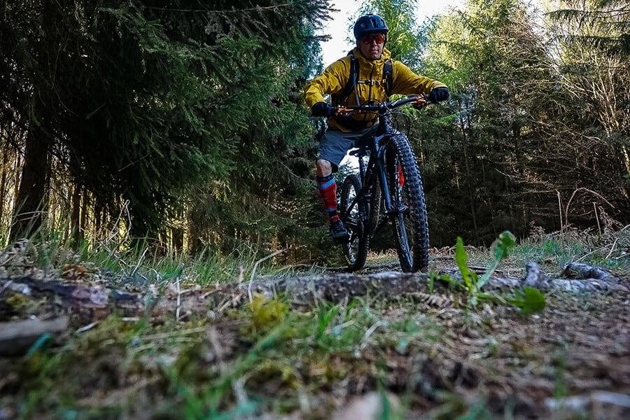 Trailspaß im Giesler Forst