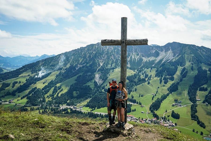 Gipfelkreuz am Ornach